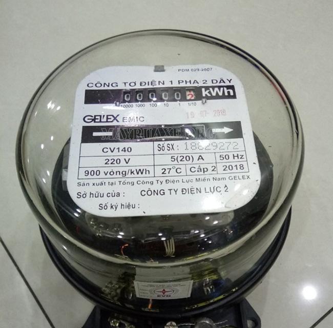 cách tính công suất của đèn led, công suất tiêu thụ điện (KWh)